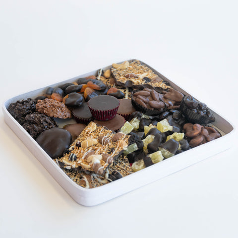 Chocolate Dried Fruit & Nut Gift Platter