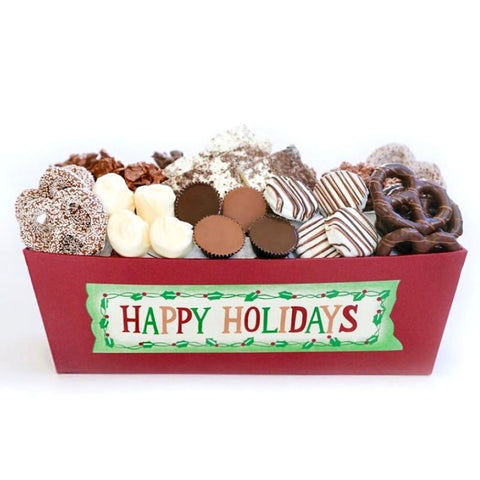 Happy Holidays Chocolate Filled Gift Box