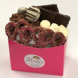 Pink Valentine's Chocolate Filled Gift Box