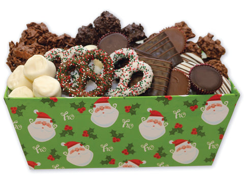 Jolly Santa Christmas Chocolate Assortment Gift Box
