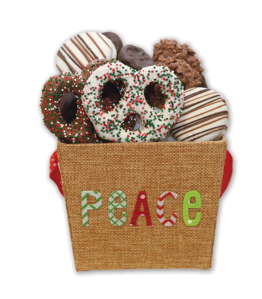 Chocolate Assortment Holiday Peace Gift Box