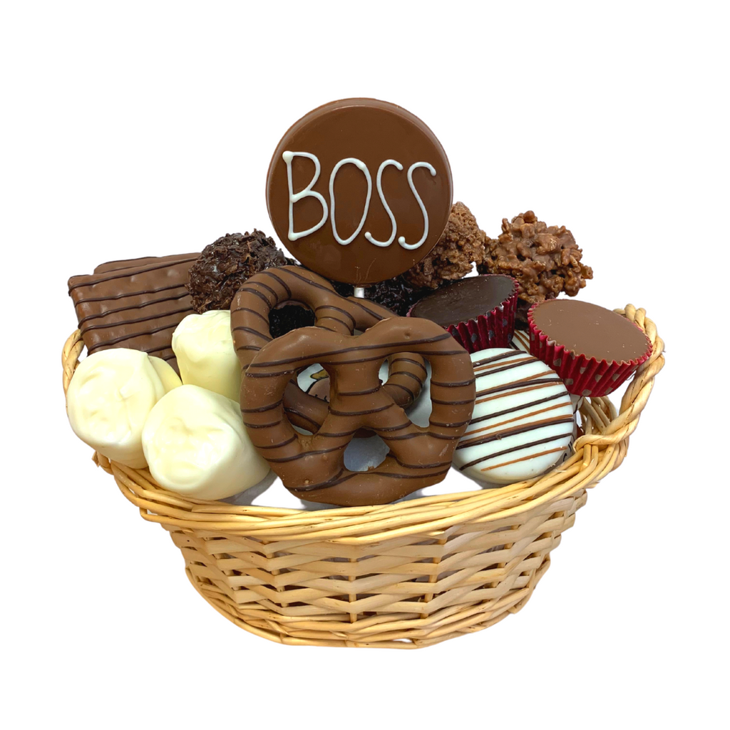 Bosses Day Chocolate Gift Basket