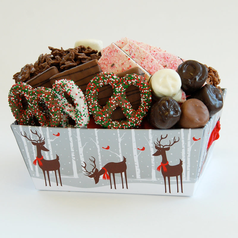 Christmas Chocolate Filled Reindeer Gift Box