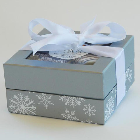 Silver Snowflake Assortment Box