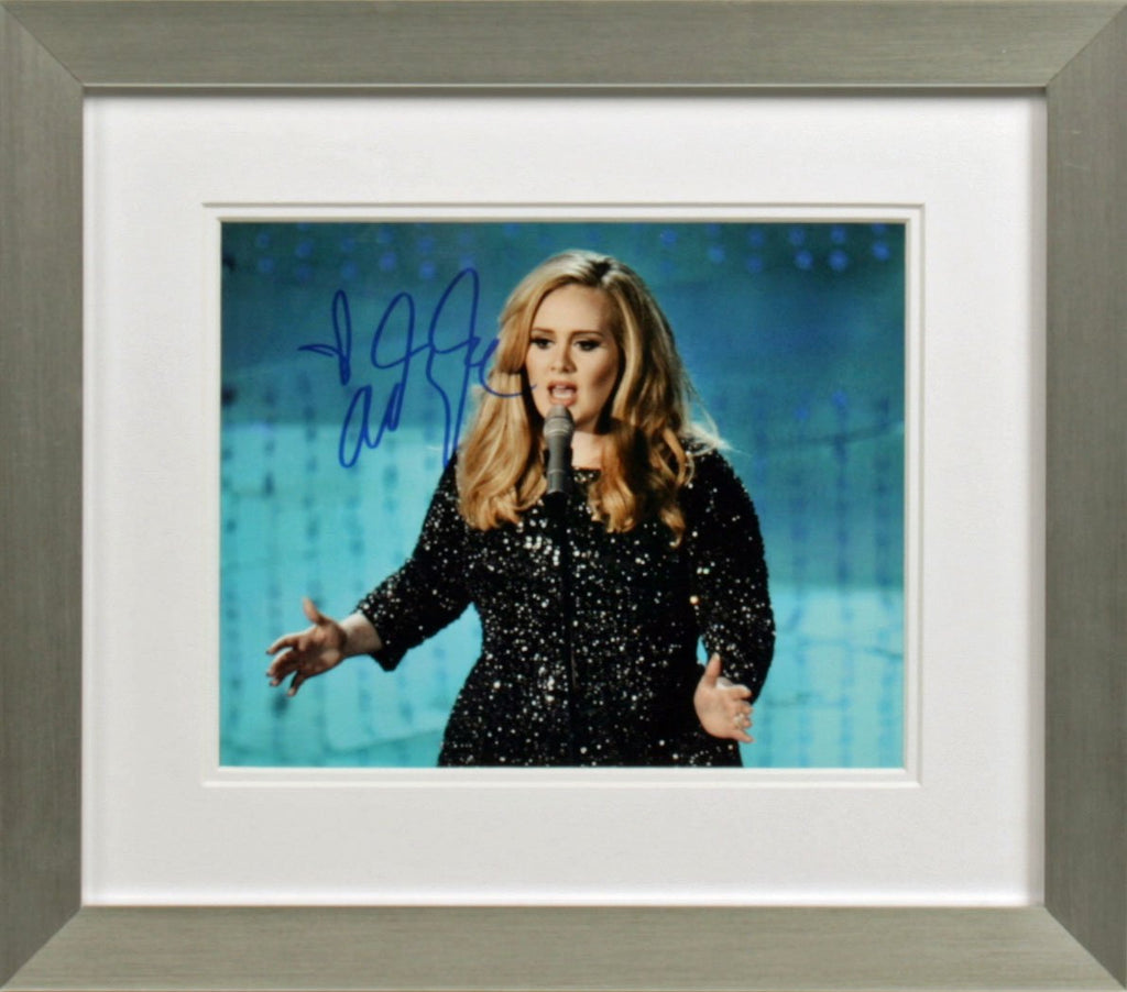 Adele Signed Photo Display