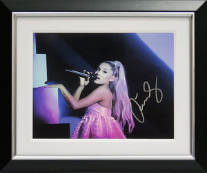 Ariana Grande Landscape Photo Display