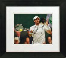 Sir Andy Murray In Action Photo Display
