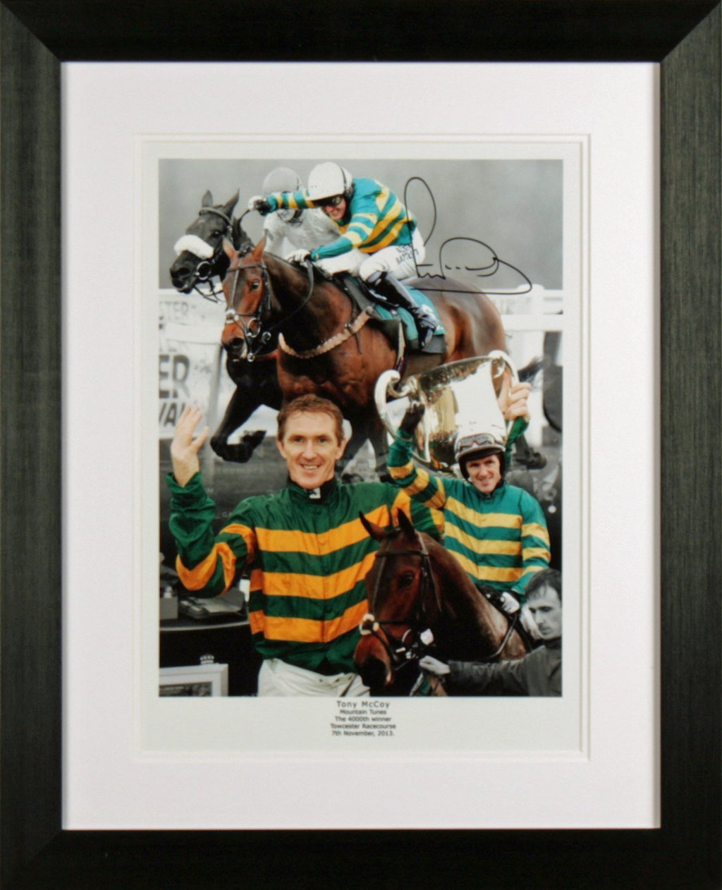AP McCoy Photo Display