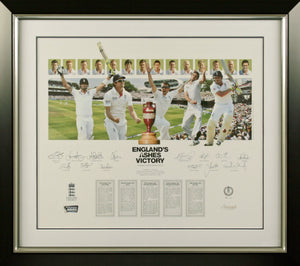 Ashes 2013 Squad Signed Photo Display