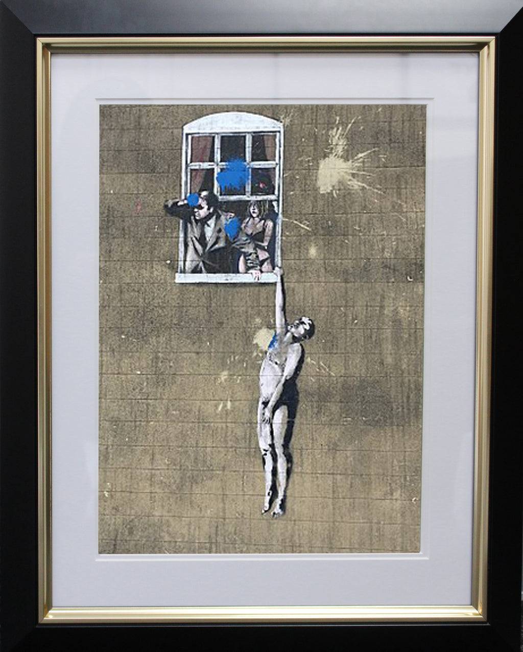 Banksy Well Hung Photo Display
