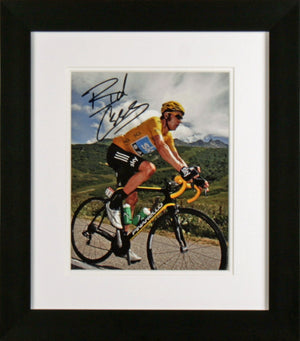 Bradley Wiggins Cycling Signed Photo Display