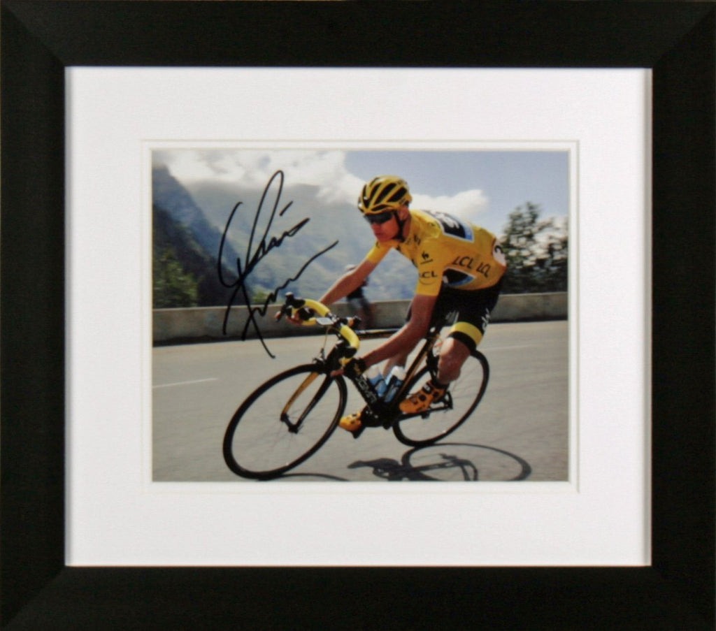 Chris Froome Signed Photo Display