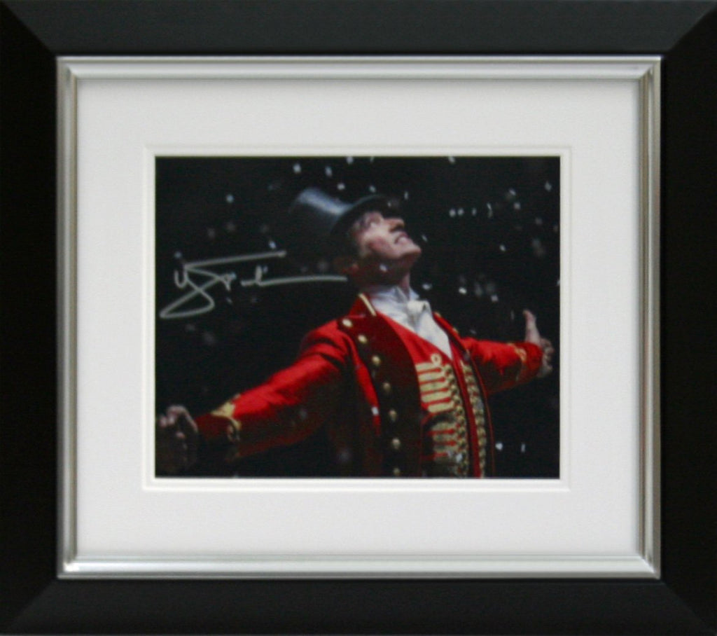 Hugh Jackman Signed Photo Display