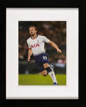 Harry Kane Signed Photo Display