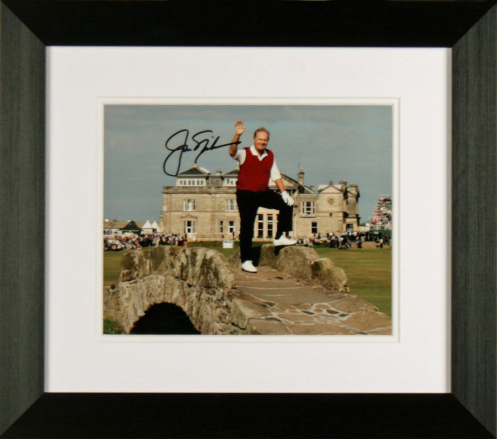 Jack Nicklaus Photo Display