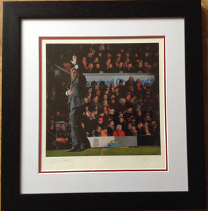 Kenny Dalglish Art Photo Display