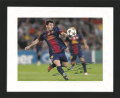 Lionel Messi Barcelona Photo Display