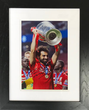 Mohamed Salah Champions League Photo Display
