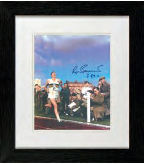 Roger Bannister Photo Display