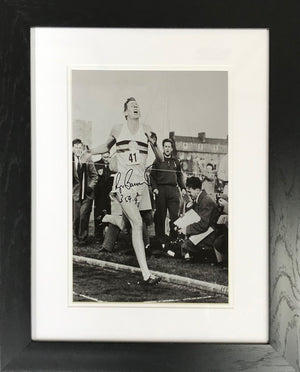 Roger Bannister B&W Photo Display