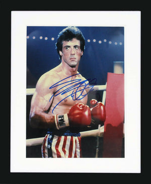 Sylvester Stallone as Rocky Photo Display