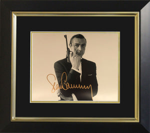 Sean Connery James Bond Photo Display - Landscape