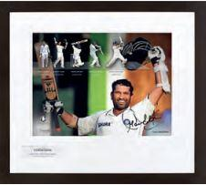 Sachin Tendulkar Gold Photo Display