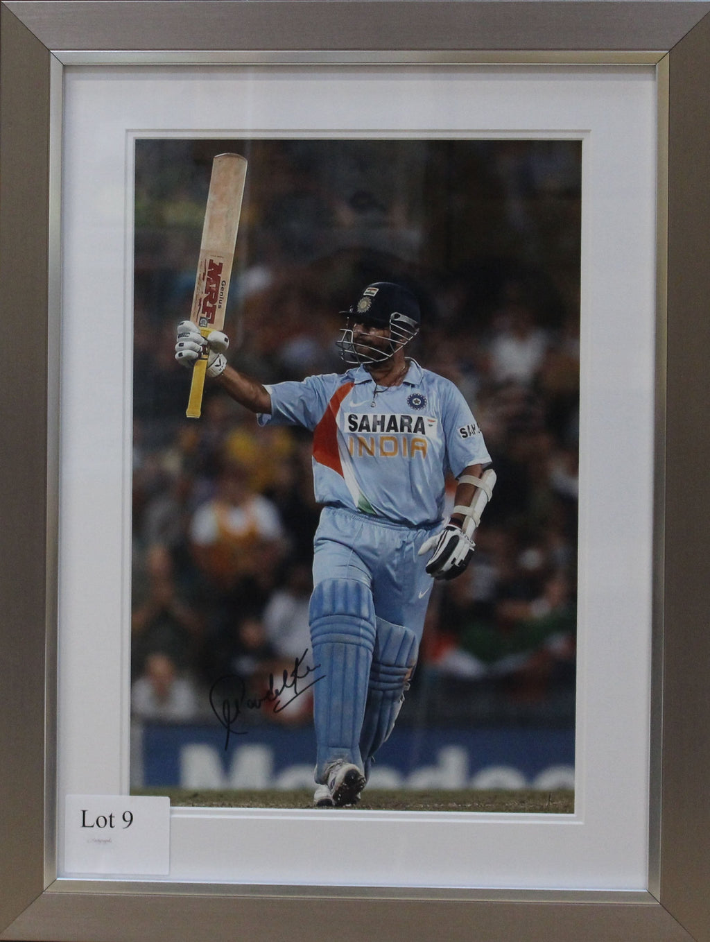 Sachin Tendulkar India Photo Display
