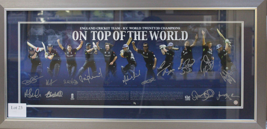 T20 England Cricket Team ICC Twenty20 Display