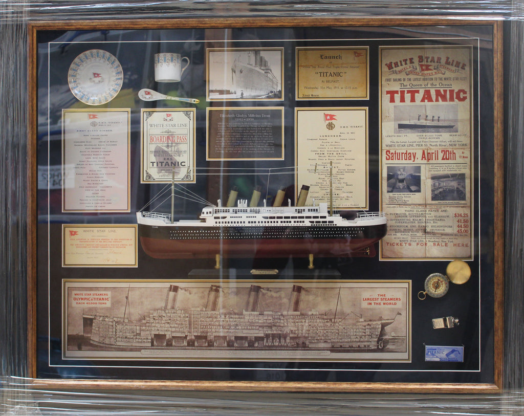 Titanic Model Display Millvina Dean