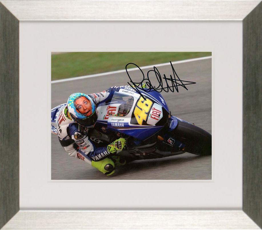 Valentino Rossi Photo Display