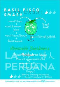 Basil Pisco Smash Recipe