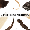 7 DIFFERENT METHODS OF LACED HAIR EXTENSIONS