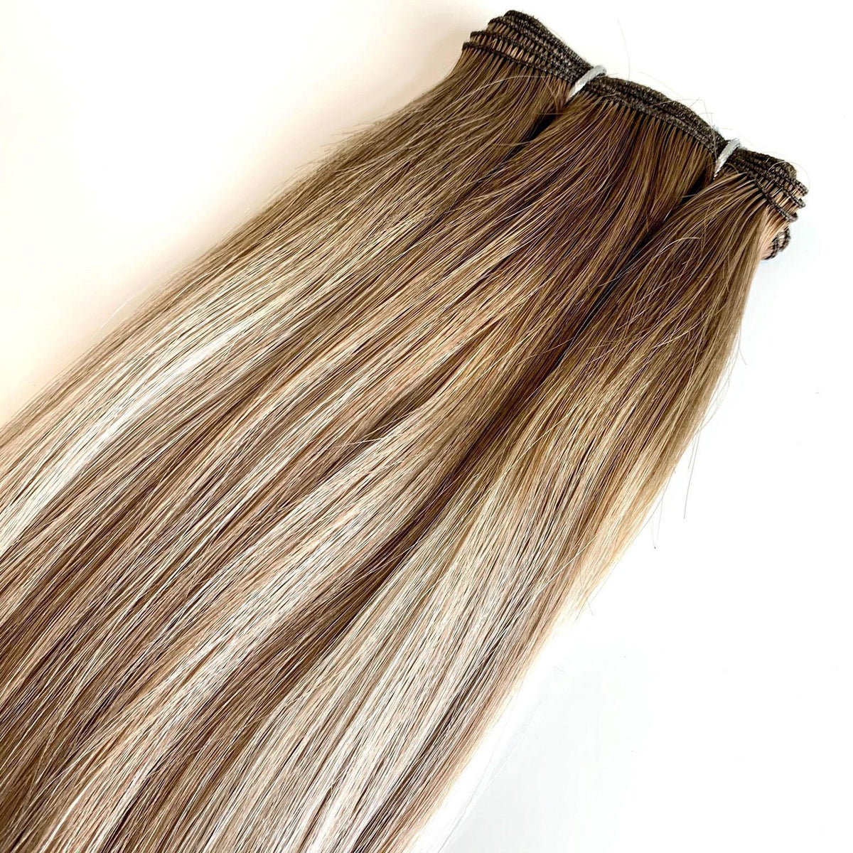 Halfsies Machine Sewn Weft Extensions Rooted #6/D8/60