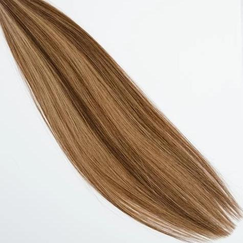 InterLaced Tape-In Hair Extensions Dimensional #4/8 - Cappuccino | by Laced Hair