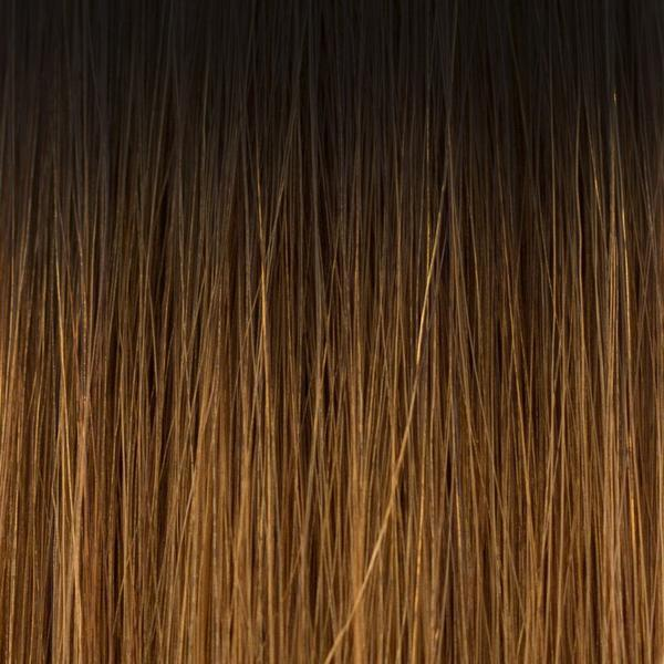 Laced Hair InterLaced Tape-In Hair Extensions Ombré #1B/5 (Caramel Latte)