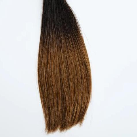 InterLaced Tape-In Hair Extensions Ombré #1B/5 - Caramel Latte | by Laced Hair