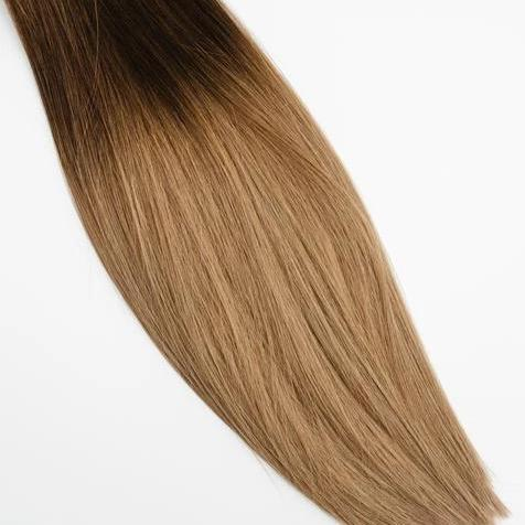 InterLaced Tape-In Hair Extensions Ombré #3/8 - Spiced Cider | by Laced Hair