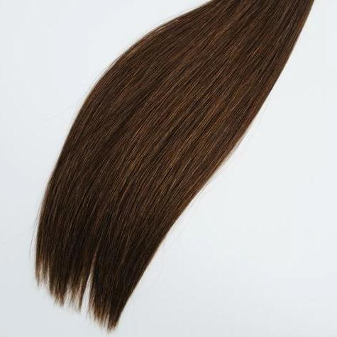 Halfsies Hand Tied Weft Extensions #2 (Chocolate)