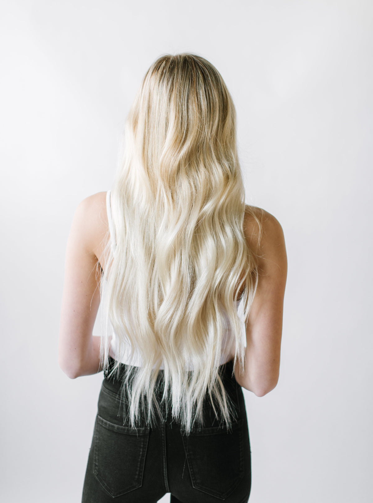 Laced Hair Keratin Bond Extensions #60 (Platinum)