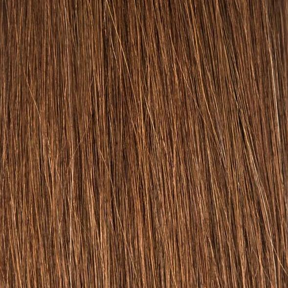 Halfsies Hand Tied Weft Extensions #33 (Copper Penny)