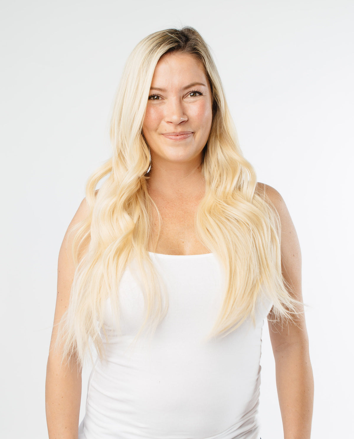 Laced Hair I-Tip Extensions Ombré #8/613