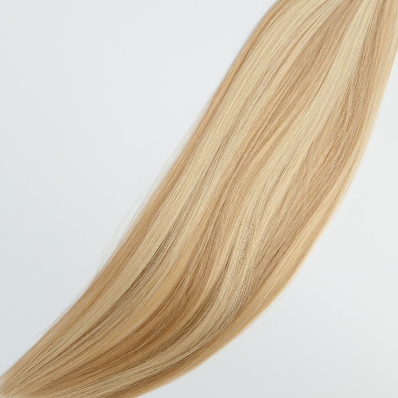 Laced Hair Hand Tied Weft Extensions Dimensional #18/22