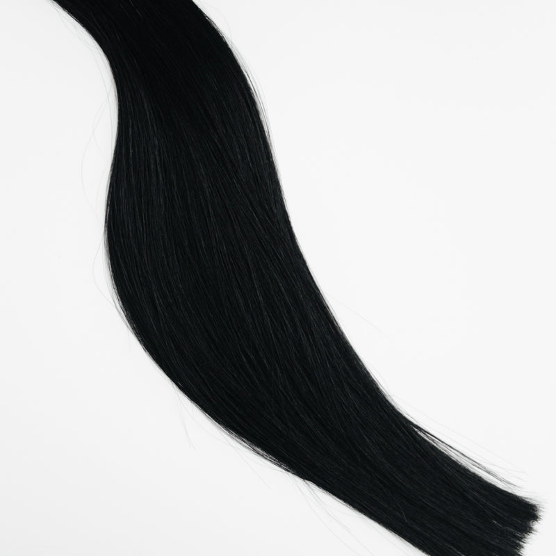 Laced Hair Hand Tied Weft Extensions #1 (Black Noir)