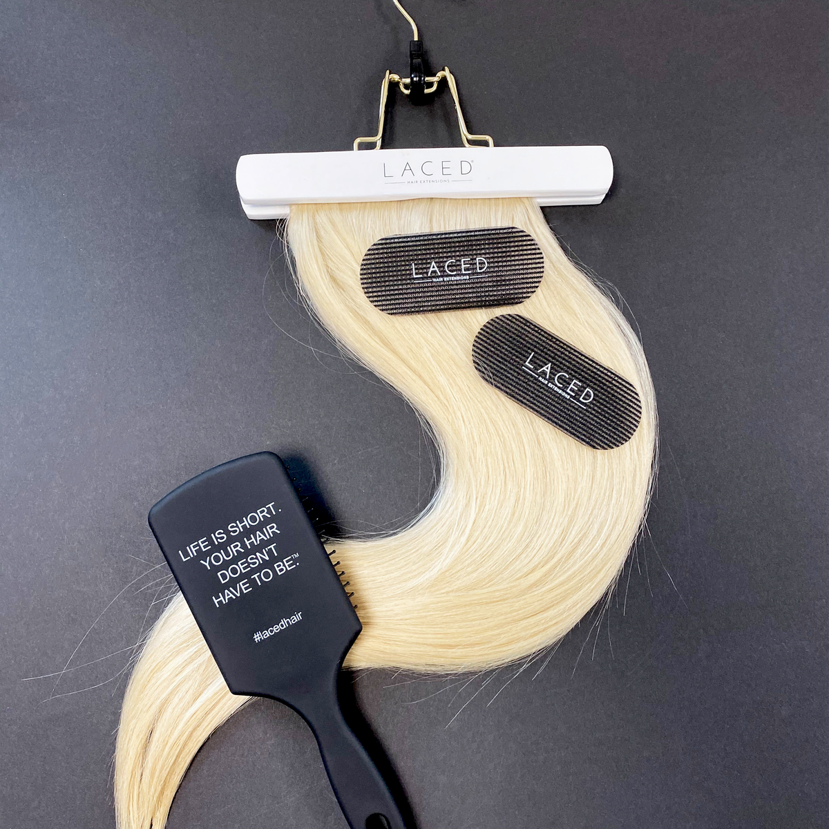 Laced Hair Sectioning Grippers