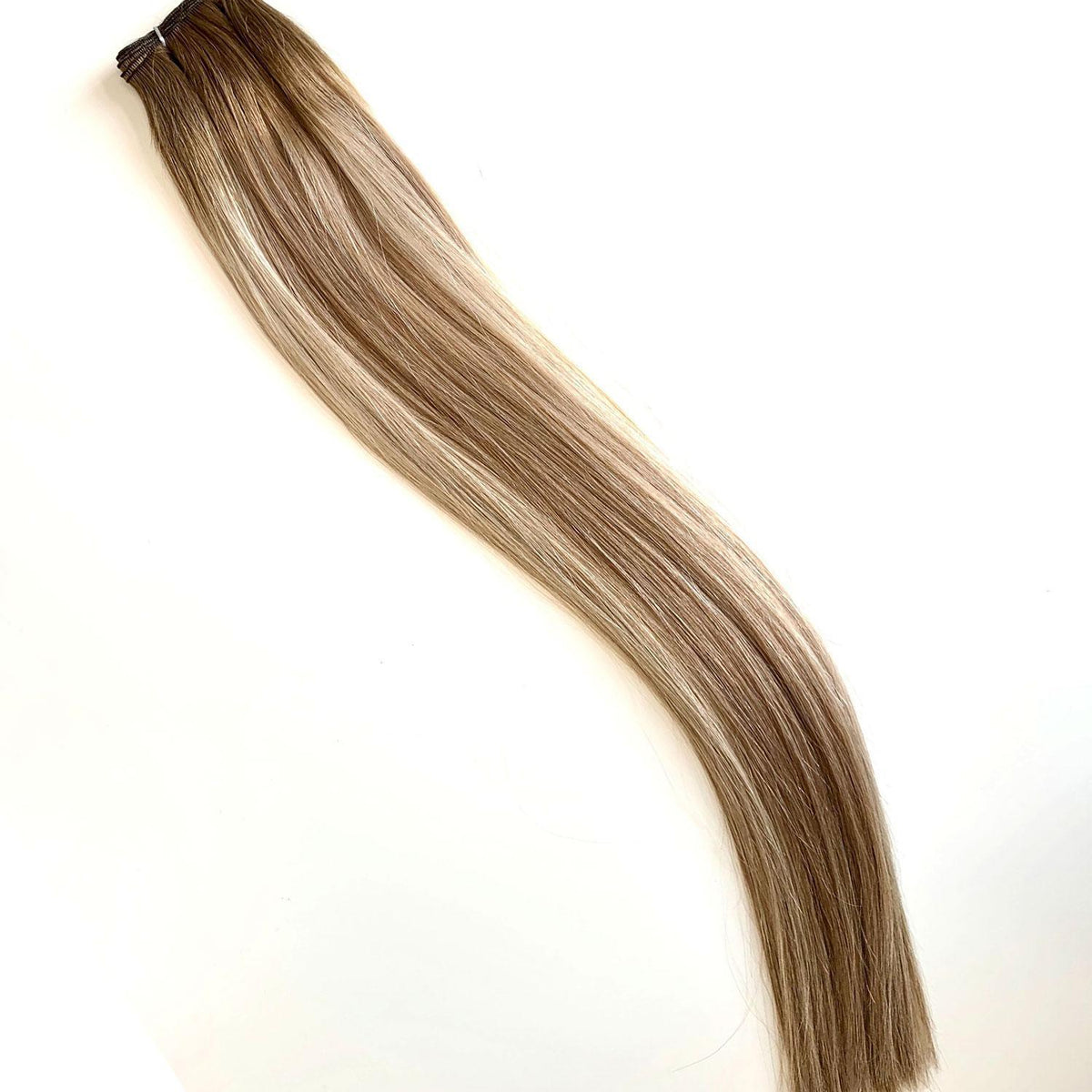 Laced Hair Machine Sewn Weft Extensions Rooted #6/D8/60