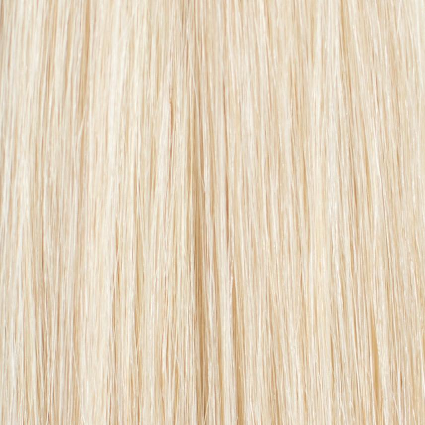 Laced Hair Machine Sewn Weft Extensions #60 (Platinum)