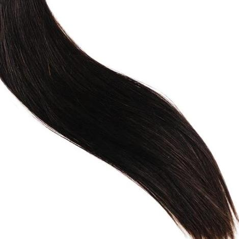 Halfsies Machine Sewn Weft Extensions #1B (Dark Roast)