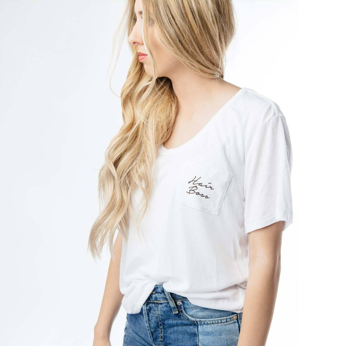 Laced T-Shirt Hair Boss (Women's)