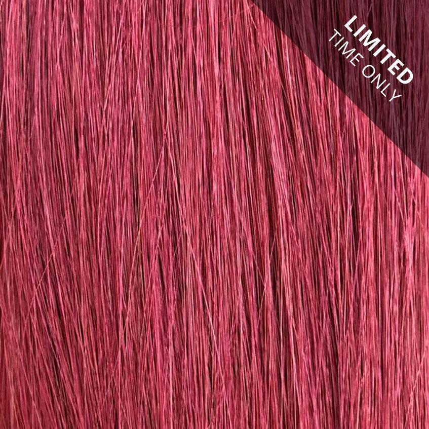 Laced Hair Keratin Bond Extensions Ruby Red